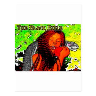 'The Black Bible': Adam & Eve Postcard