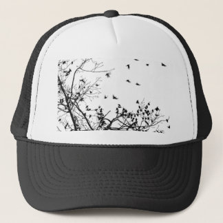 the black birds trucker hat