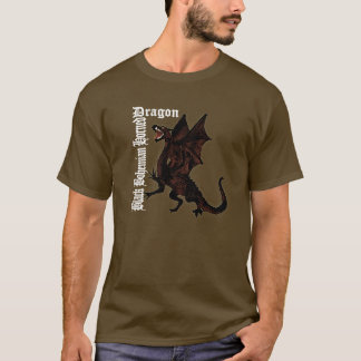 The Black Bohemian Horned Dragon Shirt