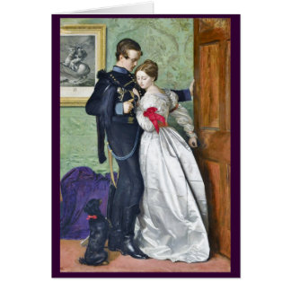 """The Black Brunswicker"" by Millais Greeting Card"