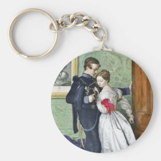"""The Black Brunswicker"" by Millais Keychain"