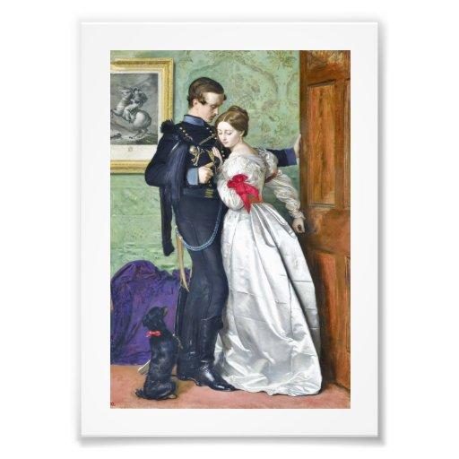 """The Black Brunswicker"" by Millais Photo Print"