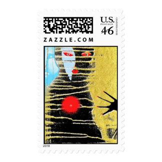 the black bruxa postage