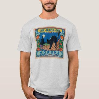 The Black Cat Agruna Vintage Crate Label T-Shirt