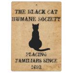 The Black Cat Humane Society Clipboard