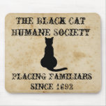 The Black Cat Humane Society Mousepad