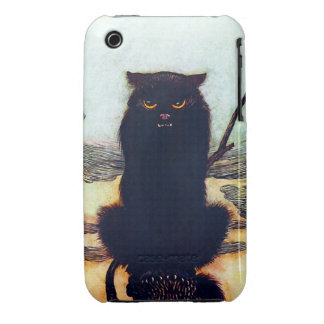The Black Cat iPhone 3 Cover