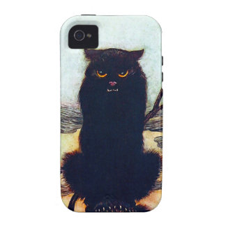 The Black Cat iPhone 4 Cover
