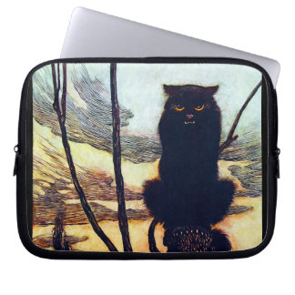 The Black Cat Laptop Computer Sleeves