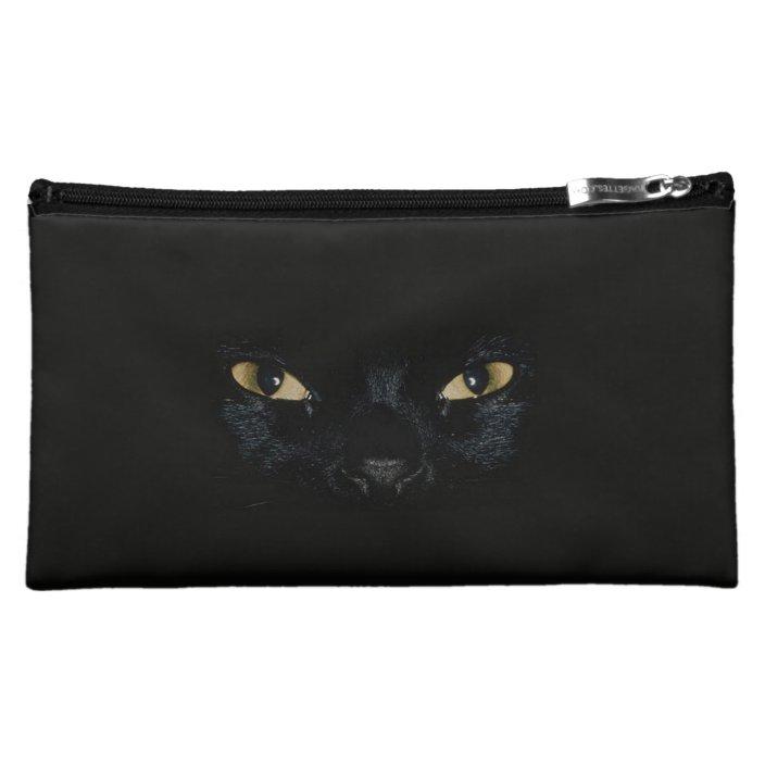 The Black Cat Makeup Bag Zazzle