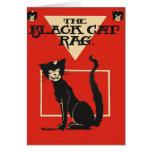 The Black Cat Rag Post Card
