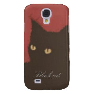 The black cat samsung s4 case
