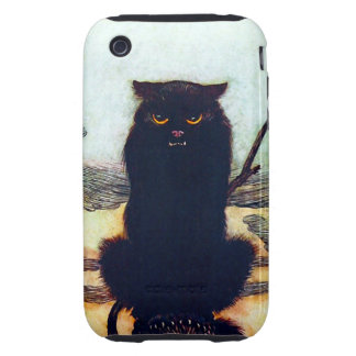 The Black Cat Tough iPhone 3 Cover