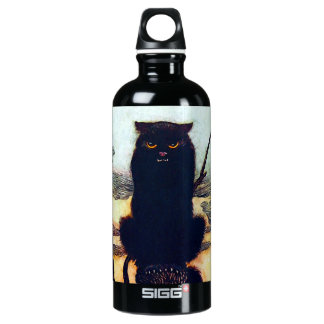 The Black Cat Water Bottle