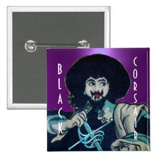 THE BLACK CORSAIR gem purple Button