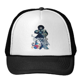THE BLACK CORSAIR TRUCKER HAT