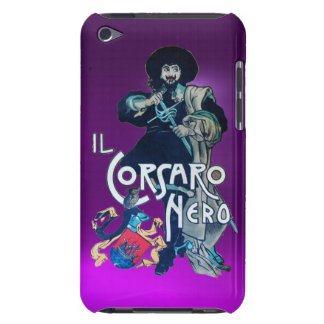THE BLACK CORSAIR purple Barely There iPod Covers