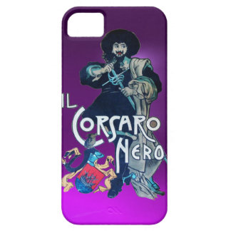 THE BLACK CORSAIR purple iPhone 5 Cover