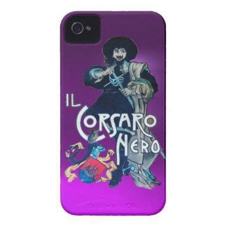THE BLACK CORSAIR purple iPhone 4 Case-Mate Cases