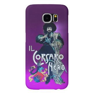 THE BLACK CORSAIR purple Samsung Galaxy S6 Cases