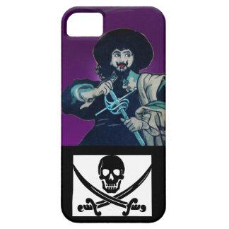 THE BLACK CORSAIR SKULL CROSSED SWORDS iPhone SE/5/5s CASE