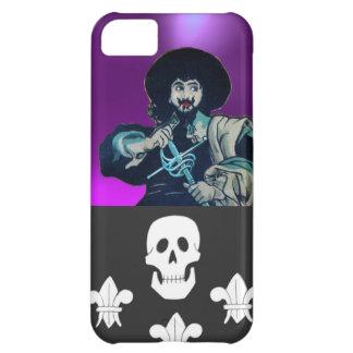 THE BLACK CORSAIR SKULL & FLEUR DE LIS iPhone 5C CASE