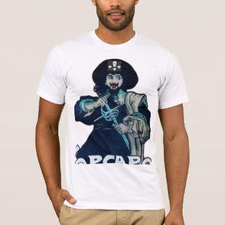 THE BLACK CORSAIR SKULL & FLEUR DE LIS T-Shirt