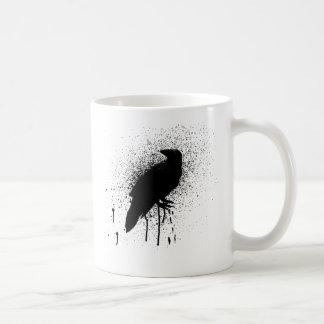 The black crow coffee mug