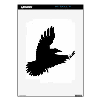 The Black Crow Decals For The iPad 2