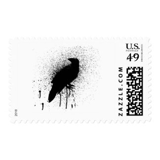 The black crow postage