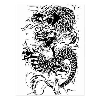 The Black Dragon Postcard