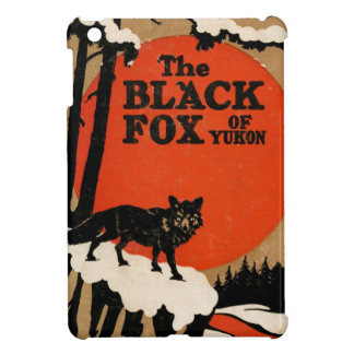 The Black Fox of Yukon Vintage Book Story Cover Case For The iPad Mini