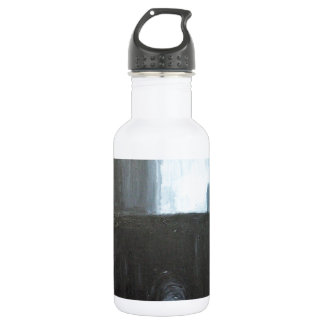 The Black Gate ( abstract cityscape painting) Water Bottle