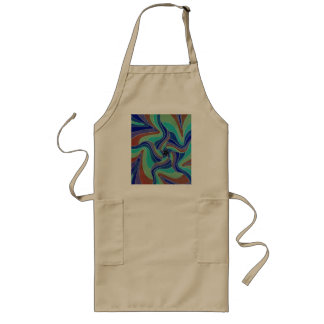 The Black Groovster Groovy Star Long Apron