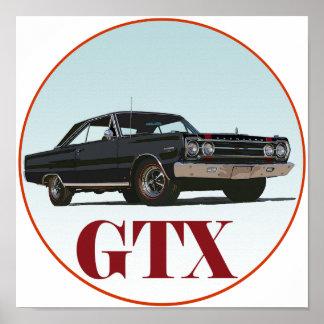 The Black GTX Poster
