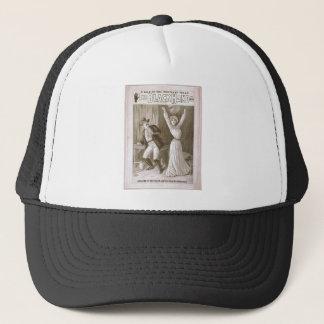 The Black Hand Trucker Hat