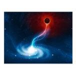 The Black Hole Postcard