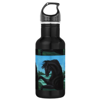 'The Black' Horse Collection Stainless Steel Water Bottle
