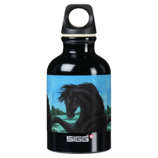 'The Black' Horse Collection Water Bottle