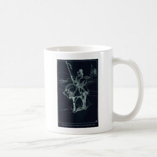 The Black Knight Classic White Coffee Mug