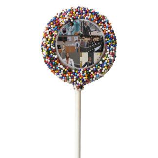 The Black Larry David Oreo Cookie Pops