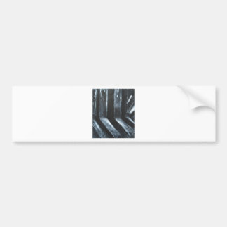 The Black Leaking Light(light symbolism) Bumper Sticker