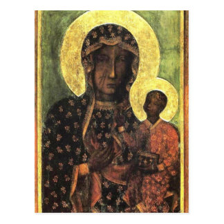 The Black Madonna of Częstochowa Postcard