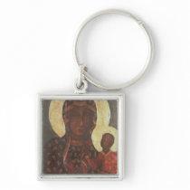 The Black Madonna of Jasna Gora Keychains