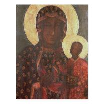The Black Madonna of Jasna Gora Postcard