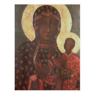 The Black Madonna of Jasna Gora Postcard