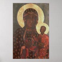 The Black Madonna of Jasna Gora Print