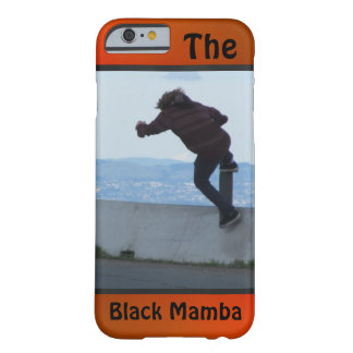 The Black Mamba Barely There iPhone 6 Case