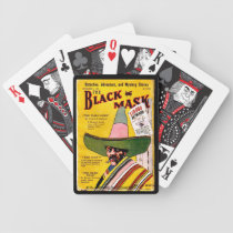 """The Black Mask"" Bicycle Playing Cards"