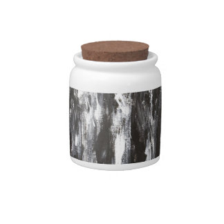 The Black Parthenon (architectural surrealism) Candy Dishes